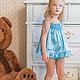 """Одежда для девочек, ручной работы. """"Ариша"""". Комплект детского белья. ТM'Alavi'Happy Home. Интернет-магазин Ярмарка Мастеров. Однотонный, рюши"""