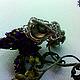 """Кольца ручной работы. Ярмарка Мастеров - ручная работа. Купить Кольцо """"Змеиный глаз"""". Handmade. Салатовый, кольцо с агатом, дендроагат"""