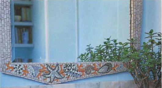 Зеркала ручной работы. Ярмарка Мастеров - ручная работа. Купить Зеркало ручной работы в ванную. Handmade. Мозаика