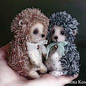 Куклы и игрушки ручной работы. Ярмарка Мастеров - ручная работа ежики Фил, Фло и другие.... Handmade.