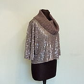 Одежда handmade. Livemaster - original item Sweater with sequin