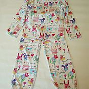 Одежда ручной работы. Ярмарка Мастеров - ручная работа детская пижама. Handmade.