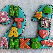 Сувениры и подарки handmade. Livemaster - original item Set of cakes for a birthday. Handmade.