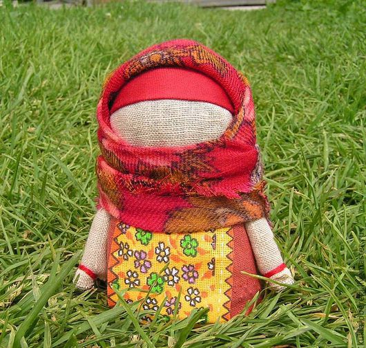 Народные куклы ручной работы. Ярмарка Мастеров - ручная работа. Купить Кукла-оберег Крупеничка. Handmade. Кукла оберег, крупеничка