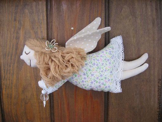 Сказочные персонажи ручной работы. Ярмарка Мастеров - ручная работа. Купить Нежный Ангел. Handmade. Сиреневый, ангелочек, ангел-хранитель