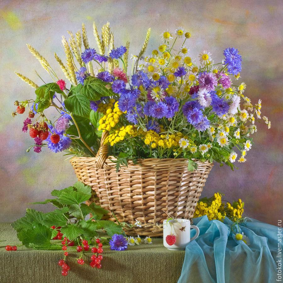 этом картинки натюрморты с полевыми цветами считают самыми привлекательными