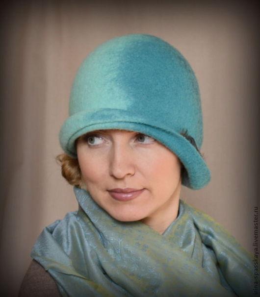 """Шляпы ручной работы. Ярмарка Мастеров - ручная работа. Купить Клош """"Пролетая над гнездом павлина"""". Handmade. Дамская шляпка"""