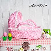 Куклы и игрушки handmade. Livemaster - original item Cradle-carrier for dolls. Handmade.