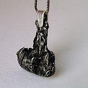 Украшения ручной работы. Ярмарка Мастеров - ручная работа Купить метеорит Сихотэ - Алинь, купить кулон мужской. Handmade.