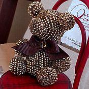 Украшения ручной работы. Ярмарка Мастеров - ручная работа Гламурный медведь. Handmade.
