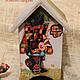 """Кухня ручной работы. Ярмарка Мастеров - ручная работа. Купить Чайный домик по мотивам мультфильма """"Винни Пух и все все все"""". Handmade."""