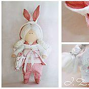 Куклы и игрушки ручной работы. Ярмарка Мастеров - ручная работа Bunny girl. Handmade.