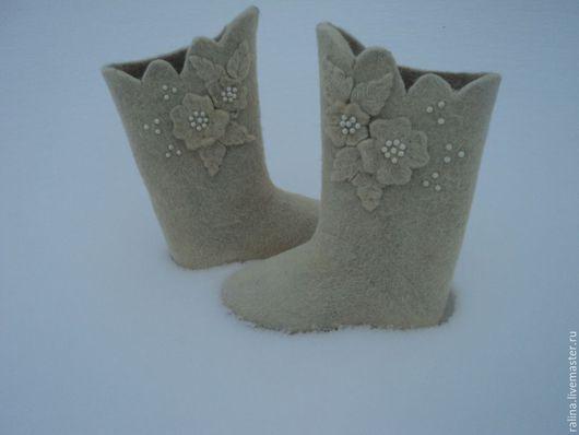 Обувь ручной работы. Ярмарка Мастеров - ручная работа. Купить валенки. Handmade. Валенки, валенки ручной работы, самовалки
