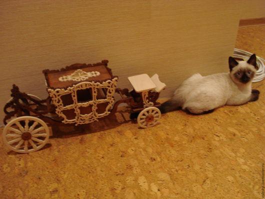 Элементы интерьера ручной работы. Ярмарка Мастеров - ручная работа. Купить Карета. Handmade. Карета
