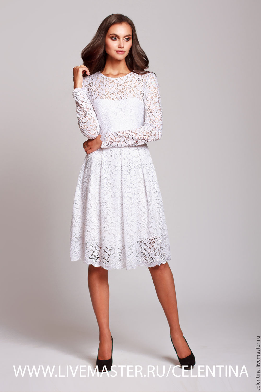 Кружевное платье за час