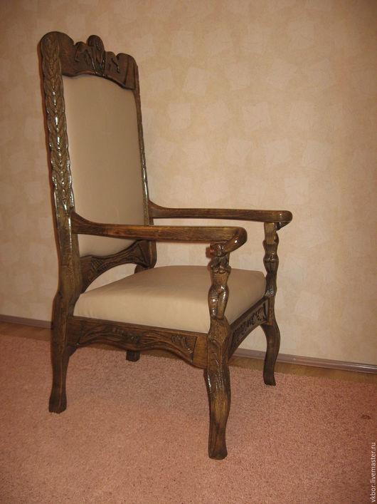 Мебель ручной работы. Ярмарка Мастеров - ручная работа. Купить Кресло резное. Handmade. Кресло, мебель ручной работы, стул