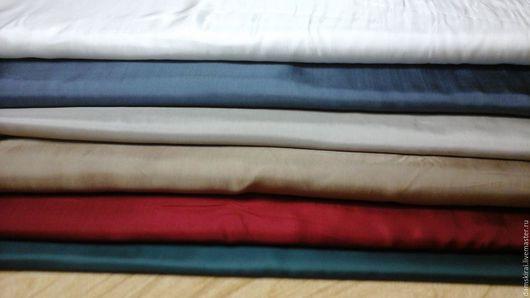 """Шитье ручной работы. Ярмарка Мастеров - ручная работа. Купить Ткань подкладочная""""Саржа"""". Handmade. Белый, подкладочная ткань, подкладка, платье"""