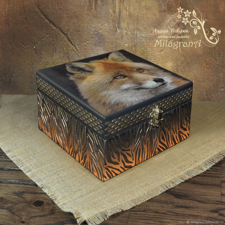 Fox Jewelry Box