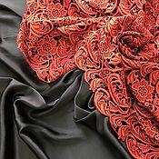 Необыкновенной красоты кружево Prada в сочетании с шелком