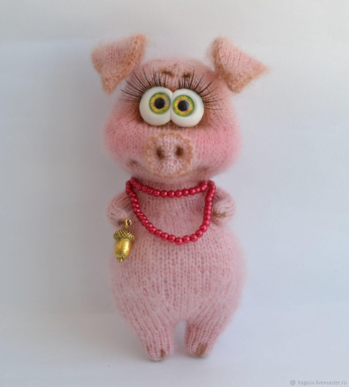 МК Свинка Фрося (спицы) – купить в интернет-магазине на ...
