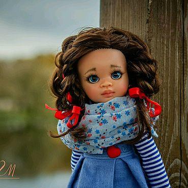 Куклы и игрушки ручной работы. Ярмарка Мастеров - ручная работа Нора. Паола Рейна кастом. OOAK.. Handmade.