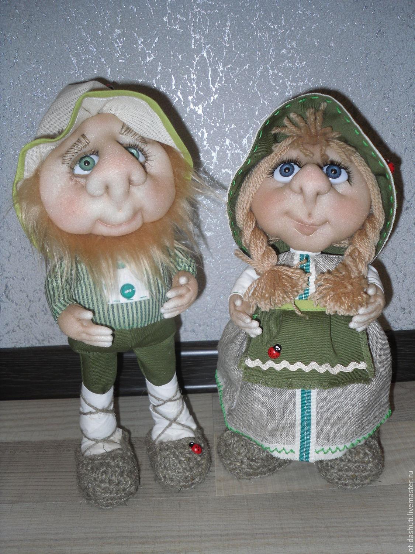 Куклы из капрона схема