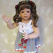 Куклы и игрушки ручной работы. Ярмарка Мастеров - ручная работа Коллекционная кукла Вишенка. Handmade.