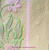 """Для дома и интерьера ручной работы. Ярмарка Мастеров - ручная работа Плед """"Лили"""". Handmade."""