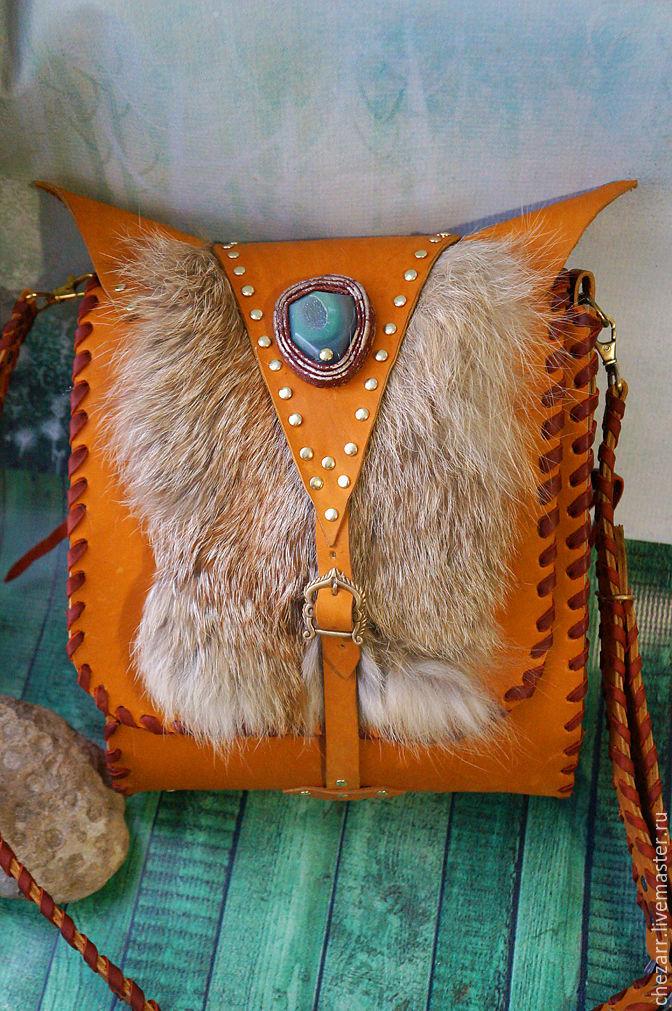 leather bag 'Fox', Classic Bag, Chelyabinsk,  Фото №1