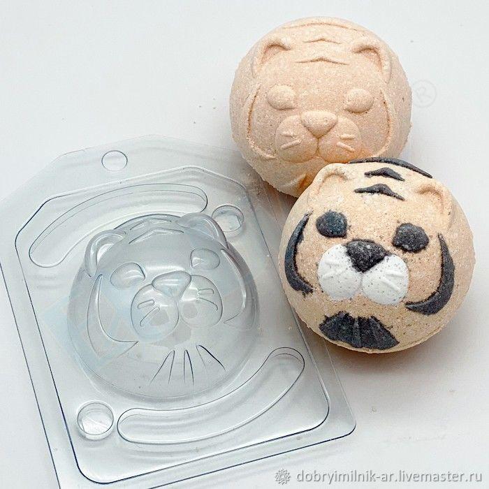 Сфера D70 Тигр форма для бомбочек (гейзеров), Формы, Москва,  Фото №1