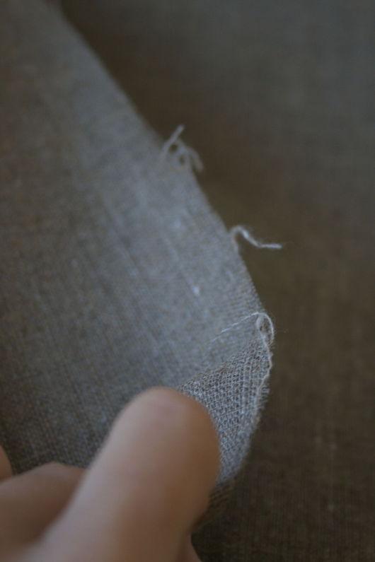 Другие виды рукоделия ручной работы. Ярмарка Мастеров - ручная работа. Купить Холст ткань, льняная/ конопляная (лён/конопля), холст художественный. Handmade.