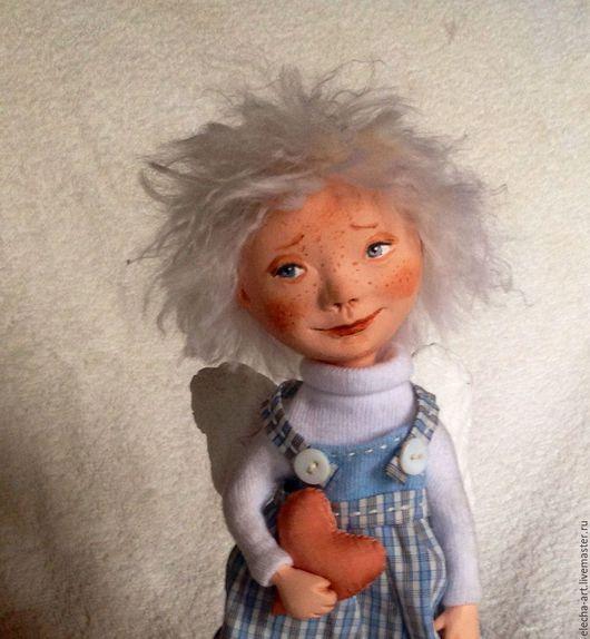 Коллекционные куклы ручной работы. Ярмарка Мастеров - ручная работа. Купить Авторская кукла Белый Ангел. Handmade. Белый