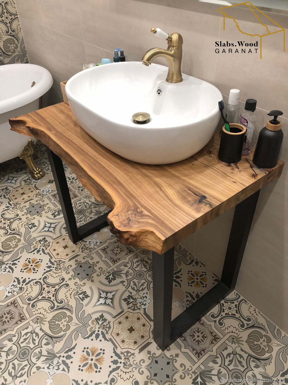 Столешница в ванную комнату, Мебель для ванной, Москва,  Фото №1