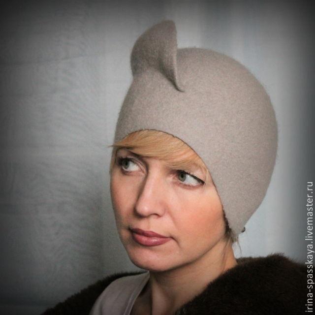 """Дамская шляпка """"Метель. Сумерки"""", Шляпы, Химки,  Фото №1"""