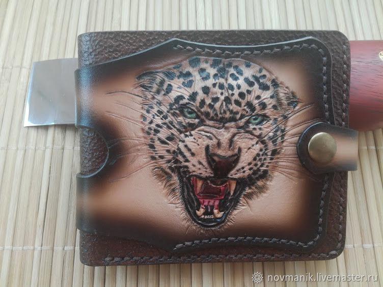 Портмоне (кошелек, бумажник) двойного сложения (Bi-fold wallet) № 27, Кошельки, Ковров, Фото №1