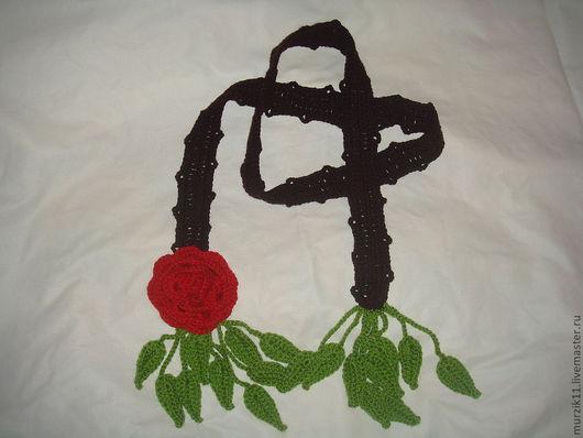 Шарфы и шарфики ручной работы. Ярмарка Мастеров - ручная работа. Купить Шарф-украшение. Handmade. Шарф-украшение, шерсть 100%