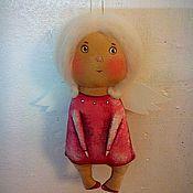 Куклы и игрушки ручной работы. Ярмарка Мастеров - ручная работа ангел ангелочек. Handmade.