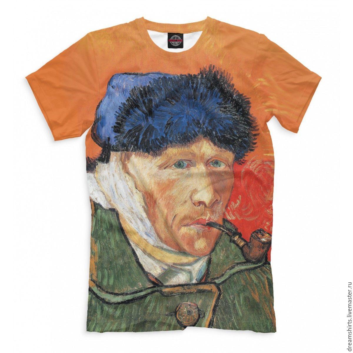 """Футболка с принтом """"Ван Гог"""", T-shirts, Moscow,  Фото №1"""