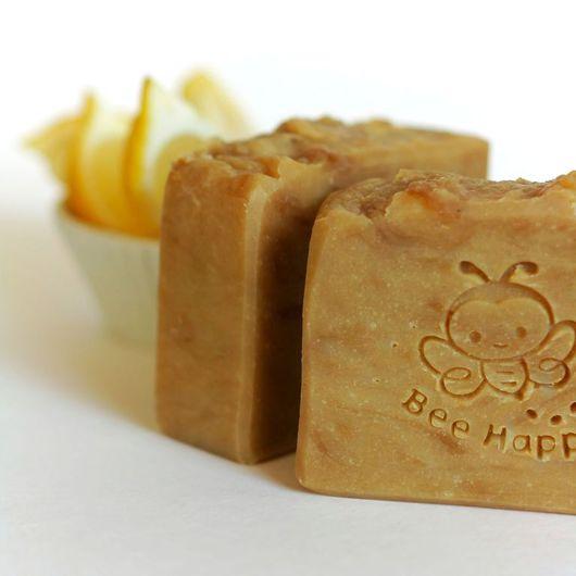 """Мыло ручной работы. Ярмарка Мастеров - ручная работа. Купить Натуральное мыло  """"Мёд с лимоном"""".. Handmade. Натуральное мыло, пчела"""