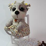 Куклы и игрушки ручной работы. Ярмарка Мастеров - ручная работа мишенька для Олечки. Handmade.