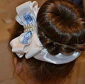 Работы для детей, handmade. Livemaster - original item The elastic on the bun, the bun bow