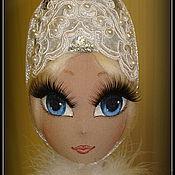 Куклы и игрушки ручной работы. Ярмарка Мастеров - ручная работа Княжна Снегурочка. Текстильная кукла.. Handmade.