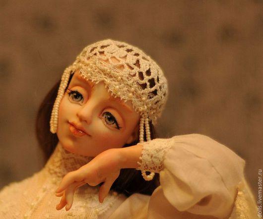 Коллекционные куклы ручной работы. Ярмарка Мастеров - ручная работа. Купить Утренний Ангел. Handmade. Белый, подарок на день рождения
