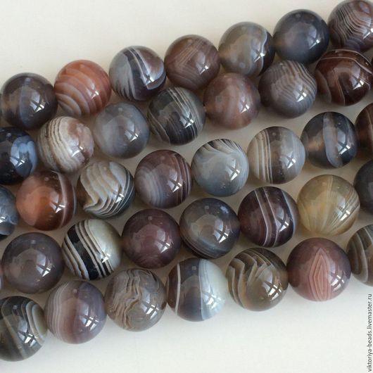 Для украшений ручной работы. Ярмарка Мастеров - ручная работа. Купить Агат ботсвана. Handmade. Ботсвана, бусины из камня, агат