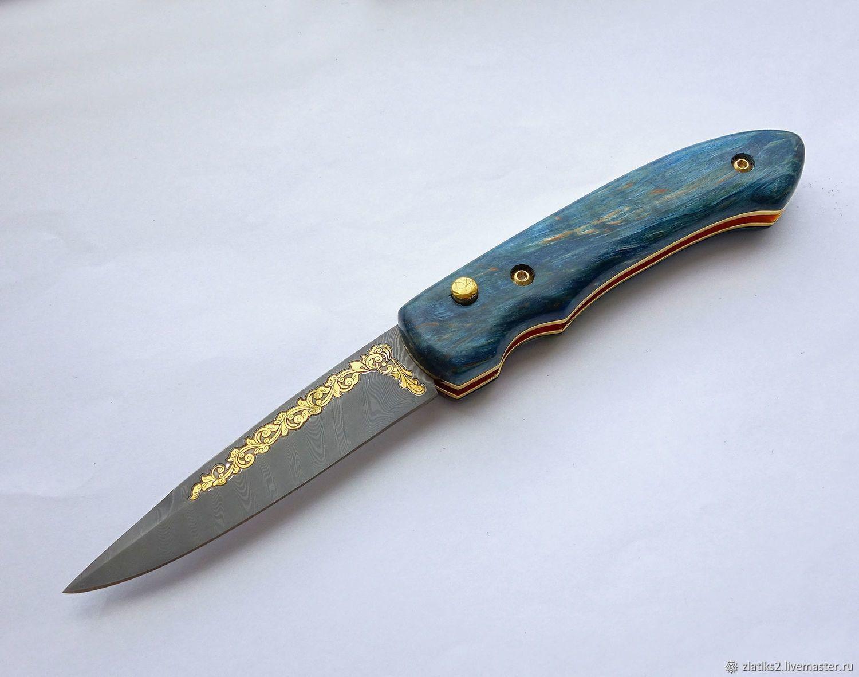 Switchblade knife z578, Knives, Chrysostom,  Фото №1