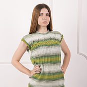 Одежда handmade. Livemaster - original item Women`s sweater - mint fresh. Handmade.