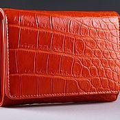 Сумки и аксессуары handmade. Livemaster - original item Wallet crocodile leather IMA0216O5. Handmade.