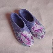 """Обувь ручной работы. Ярмарка Мастеров - ручная работа Тапочки """"Клэр"""". Handmade."""
