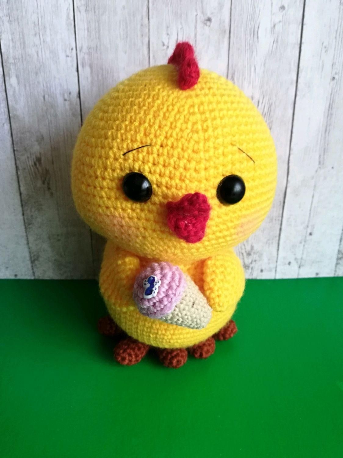 Цыпленок с мороженым, Кукольная еда, Череповец,  Фото №1
