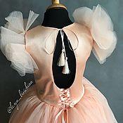 Пышное нежное платье принцессы на выпускной и не только :)